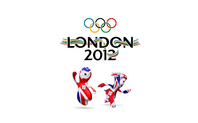 London 2012 Olympics Logo and Mascots HD Desktop Wallpaper