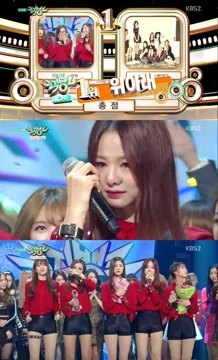 EXID wins #1 on 'Music Bank'