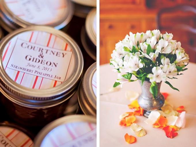 Peaches and Cream Utah Wedding: Courtney and Gideon