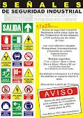 Señales de seguridad industrial
