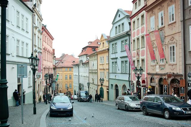 Straße in Prag