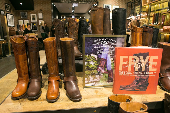 The Frye Company's 150th anniversary and launch party in Chicago.