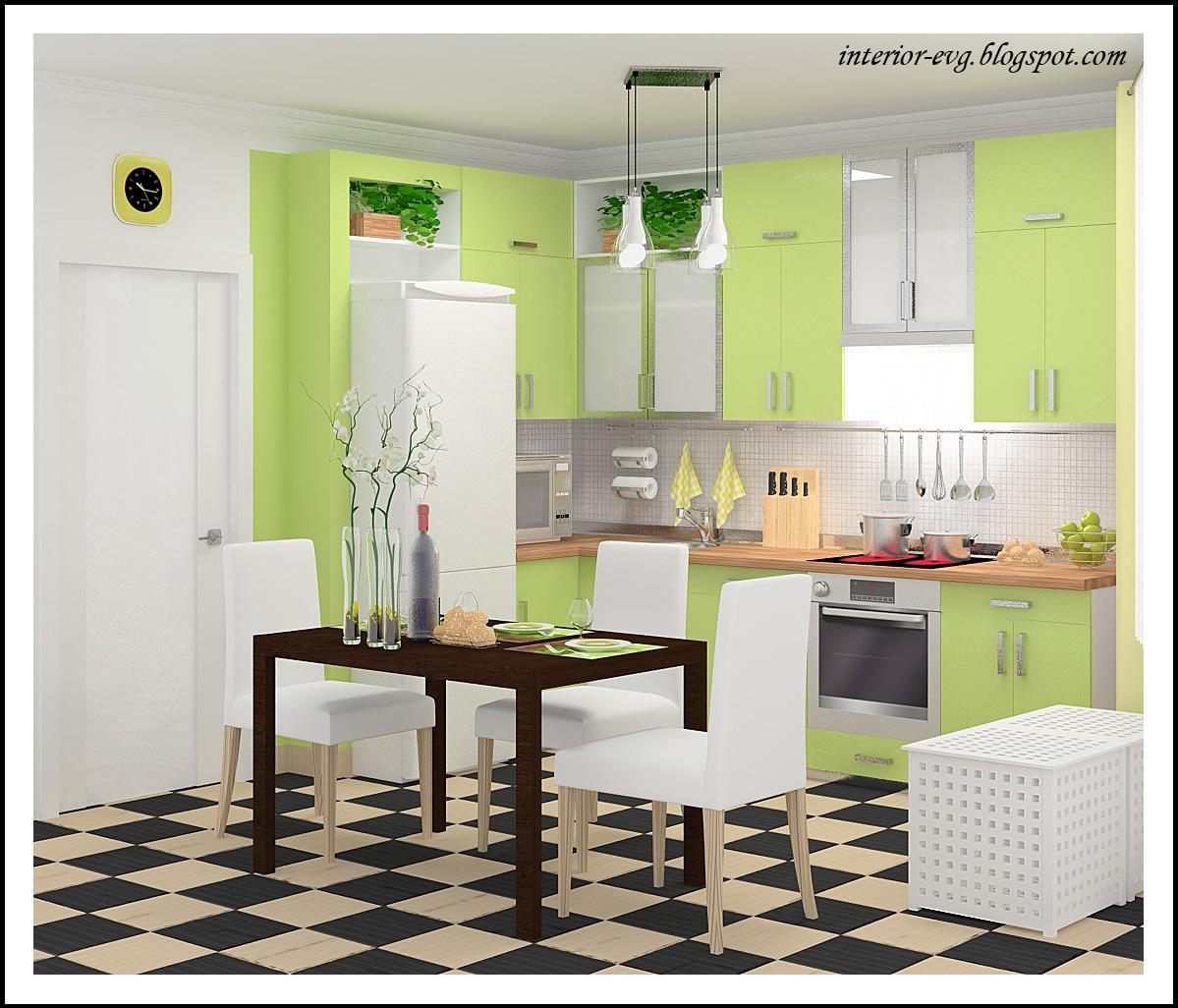 Бюджетный вариант кухни дизайн