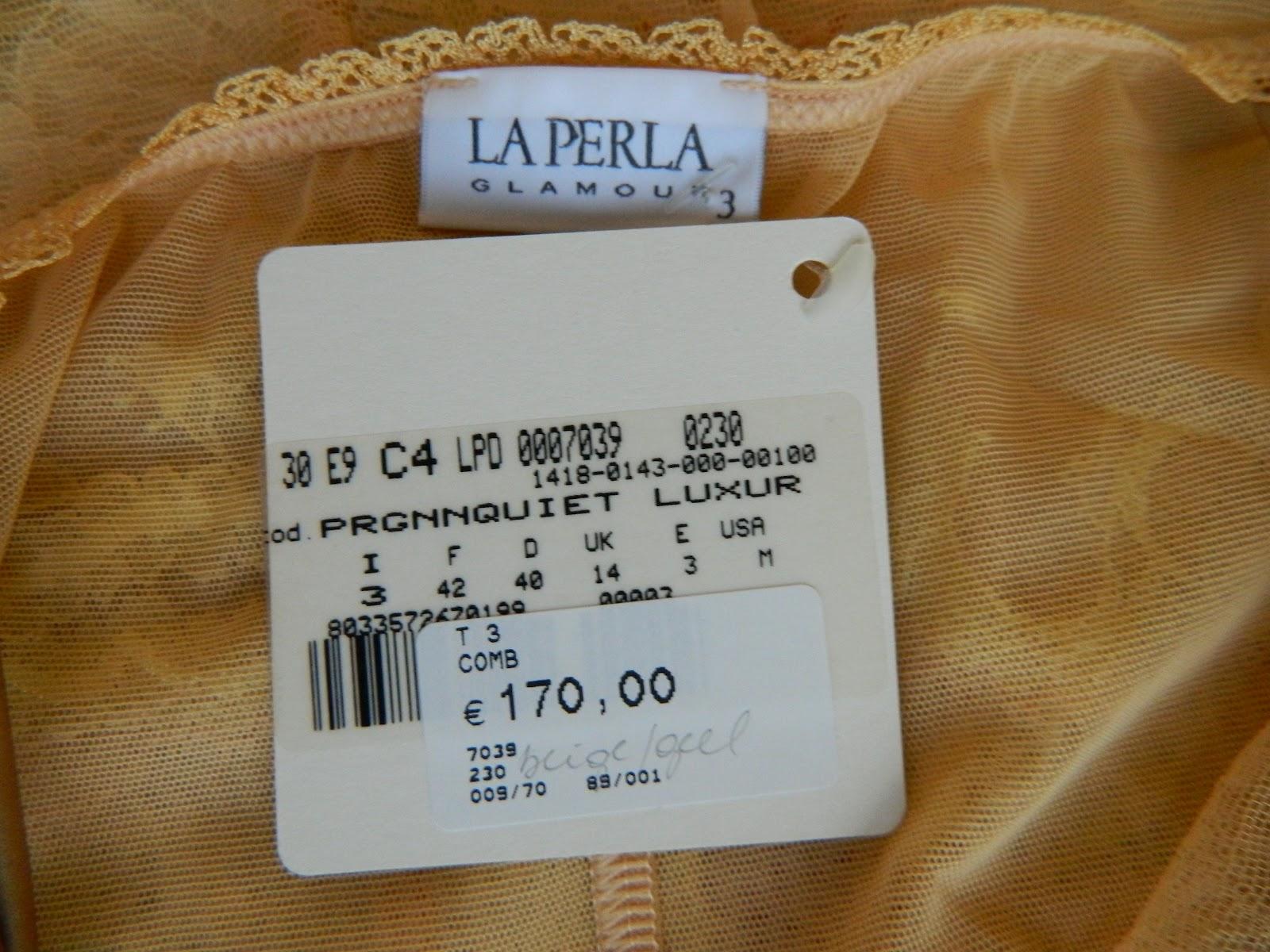 SPOT OUTLET High Fashion Brands wholesale stocklots: LA PERLA ...