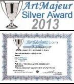 "PREMIO ""ArtMajeur Silver Award 2013"""