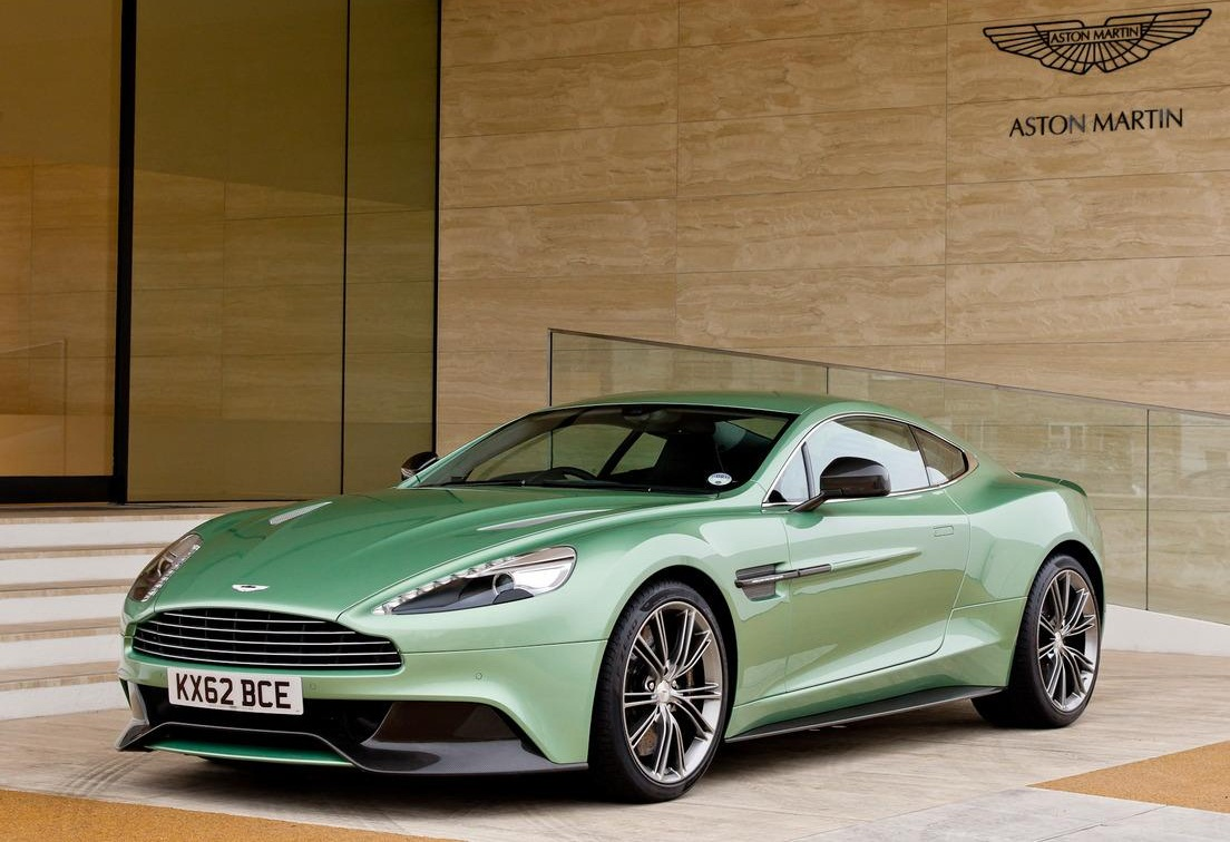 sport car garage aston martin vanquish 2014. Black Bedroom Furniture Sets. Home Design Ideas