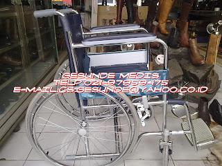 kursi roda almunium berjari-jari dengan harga murah dan ekonomis
