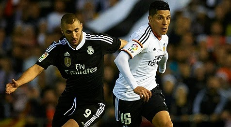 Valencia Broke Real Madrid's Winning Streak