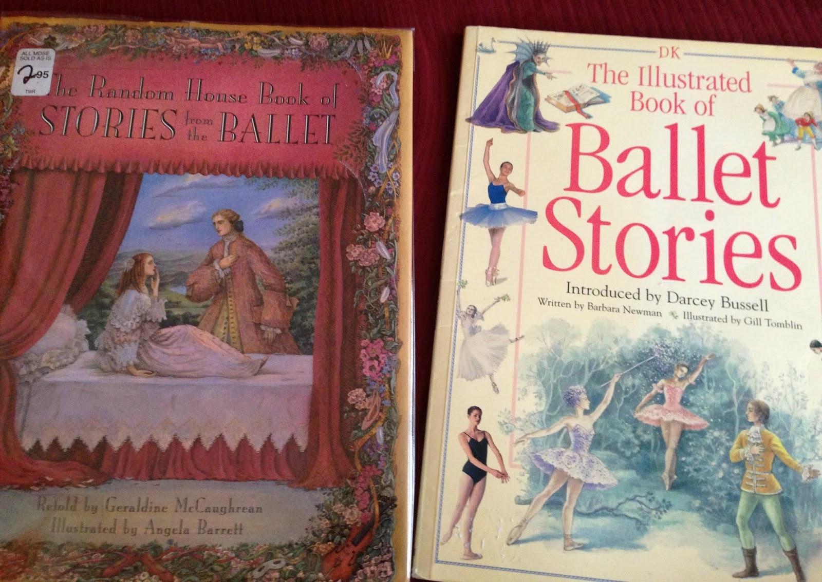 Книга в подарок балет