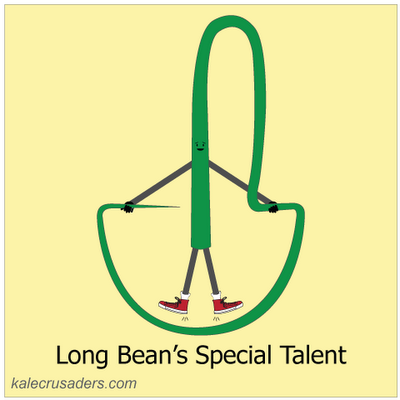 Long Bean's Special Talent (jump rope!)