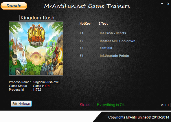 Kingdom Rush V4.3.3.30826 Trainer +5