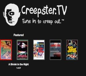 CreepsterTV Google TV Channel