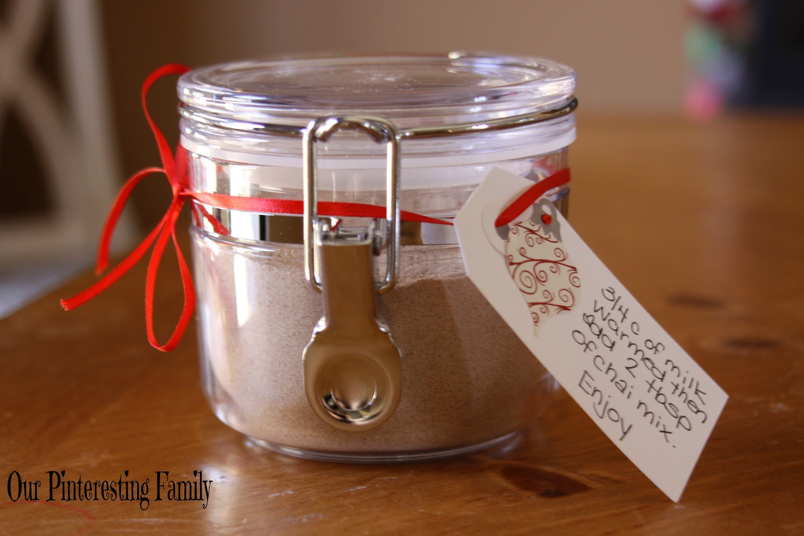 Our Pinteresting Family: Chai Tea Mix Gift