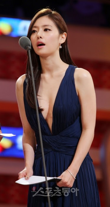 Hong Soo Ah (홍수아) - 2010 CJ Baseball Golden Globe Awards held on 11 December 2010