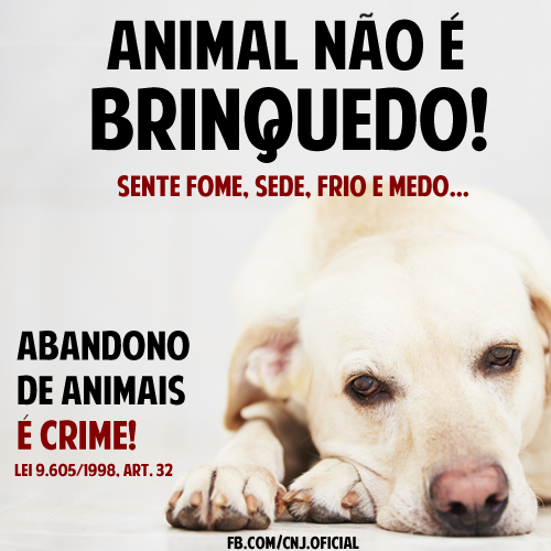 Proteja os animais ^^