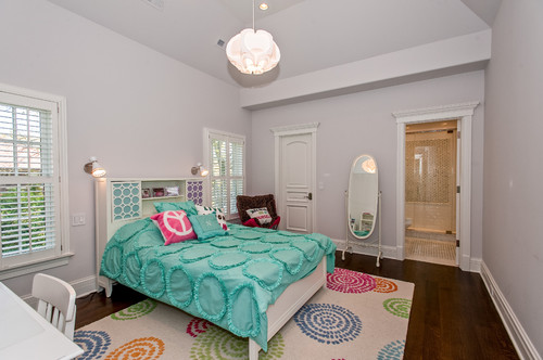 Interior design ideas girls bedroom furniture paint Teenage room paint ideas