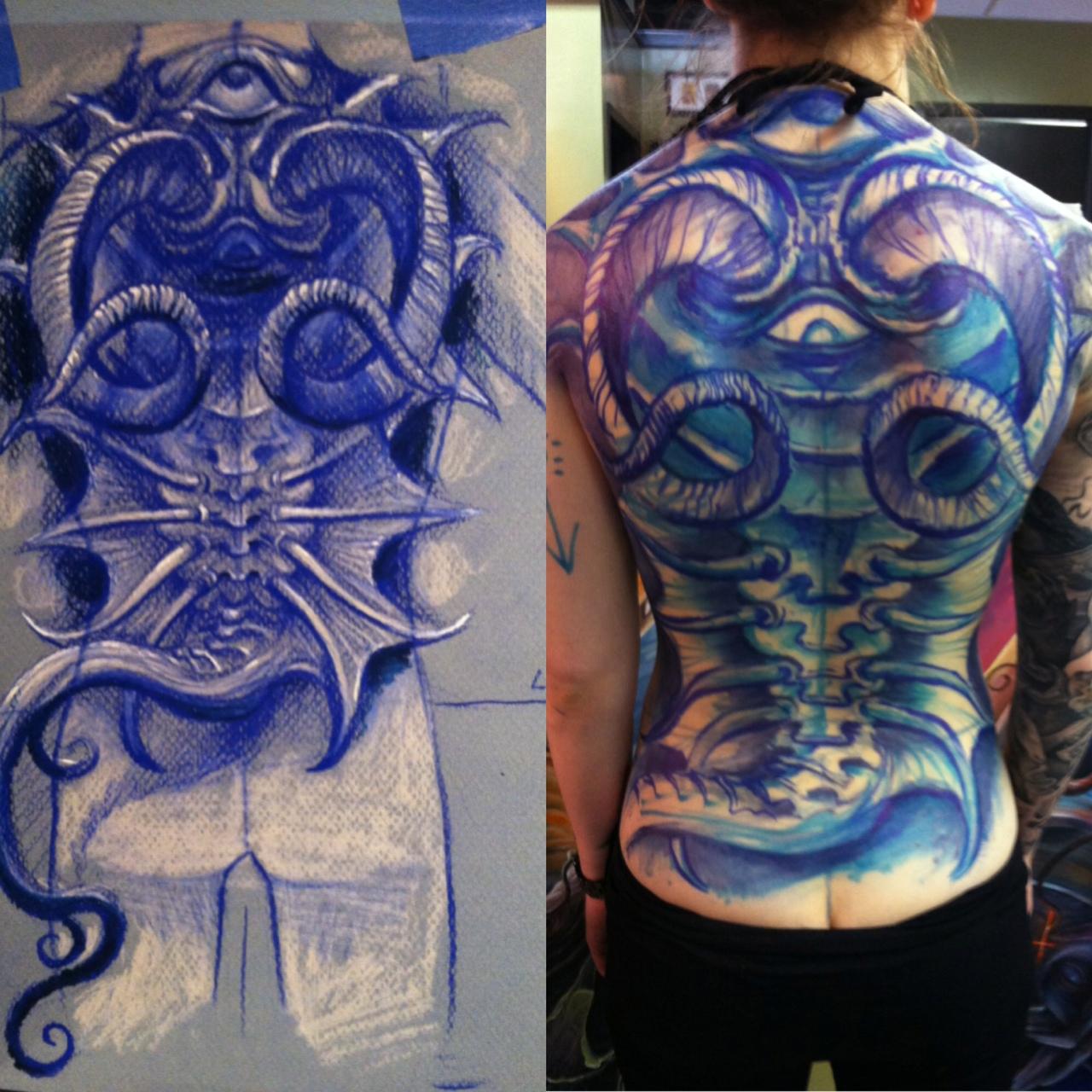 tattoos art by david ekstrom june 2013. Black Bedroom Furniture Sets. Home Design Ideas