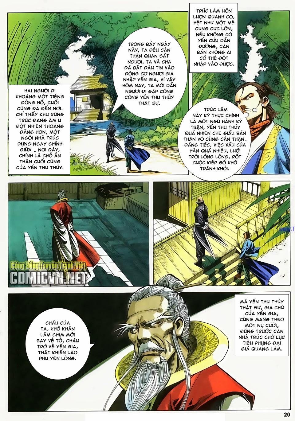 Cổ Long Quần Hiệp Truyện chap 84 Trang 20 - Mangak.info