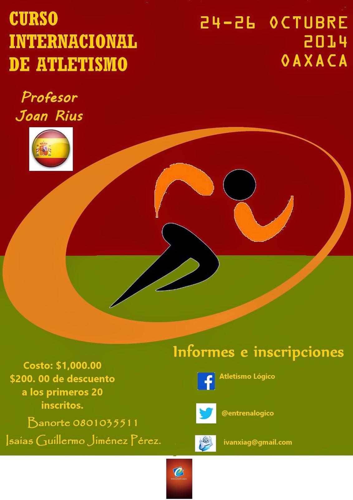 Curso Internacional de Atletismo.