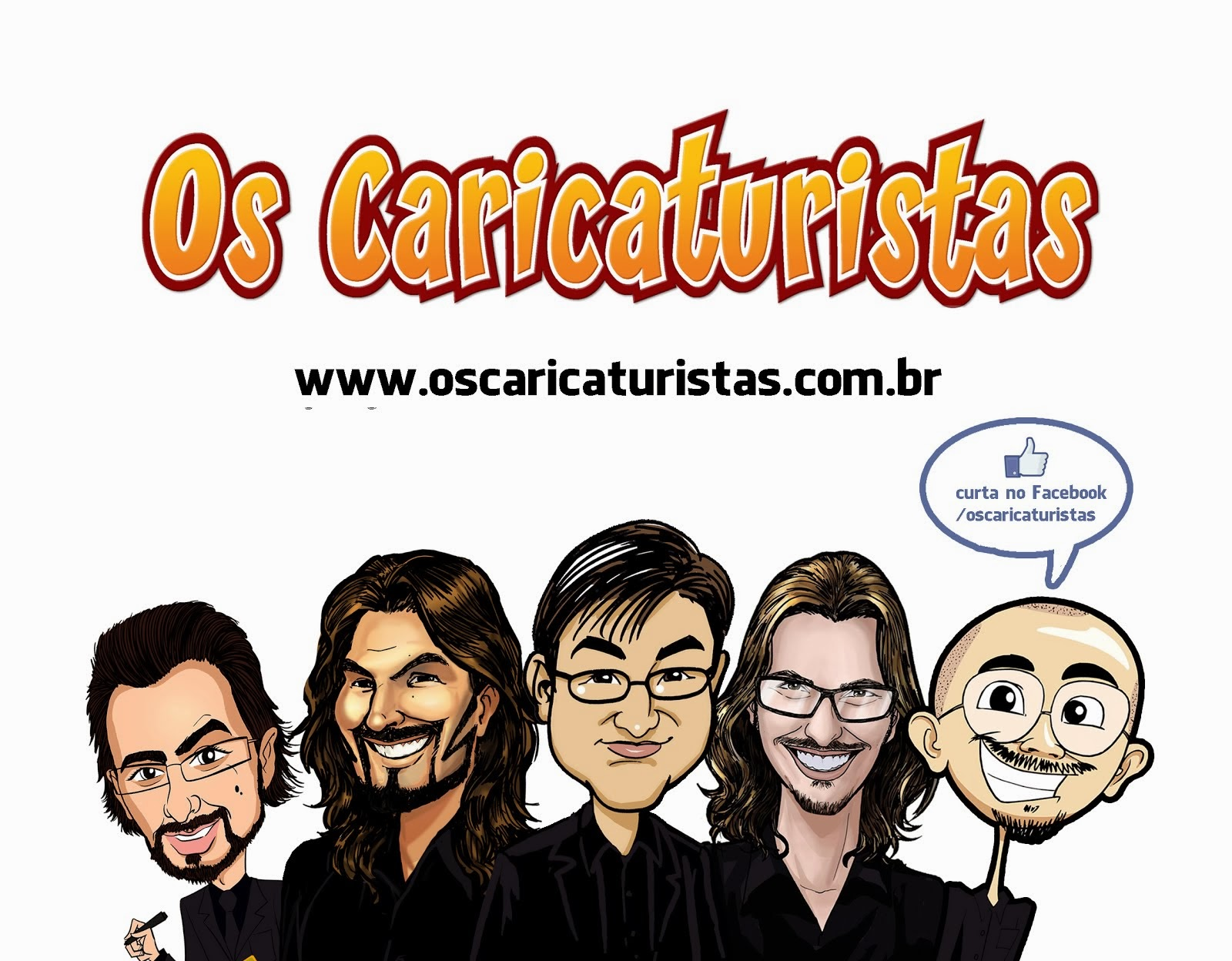 curta Os Caricaturistas