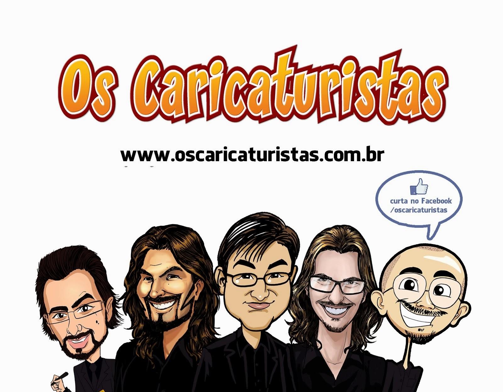 curta Os Caricaturistas