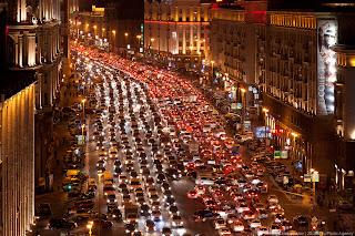 Moskouse verkeersinfarcten: een begrip