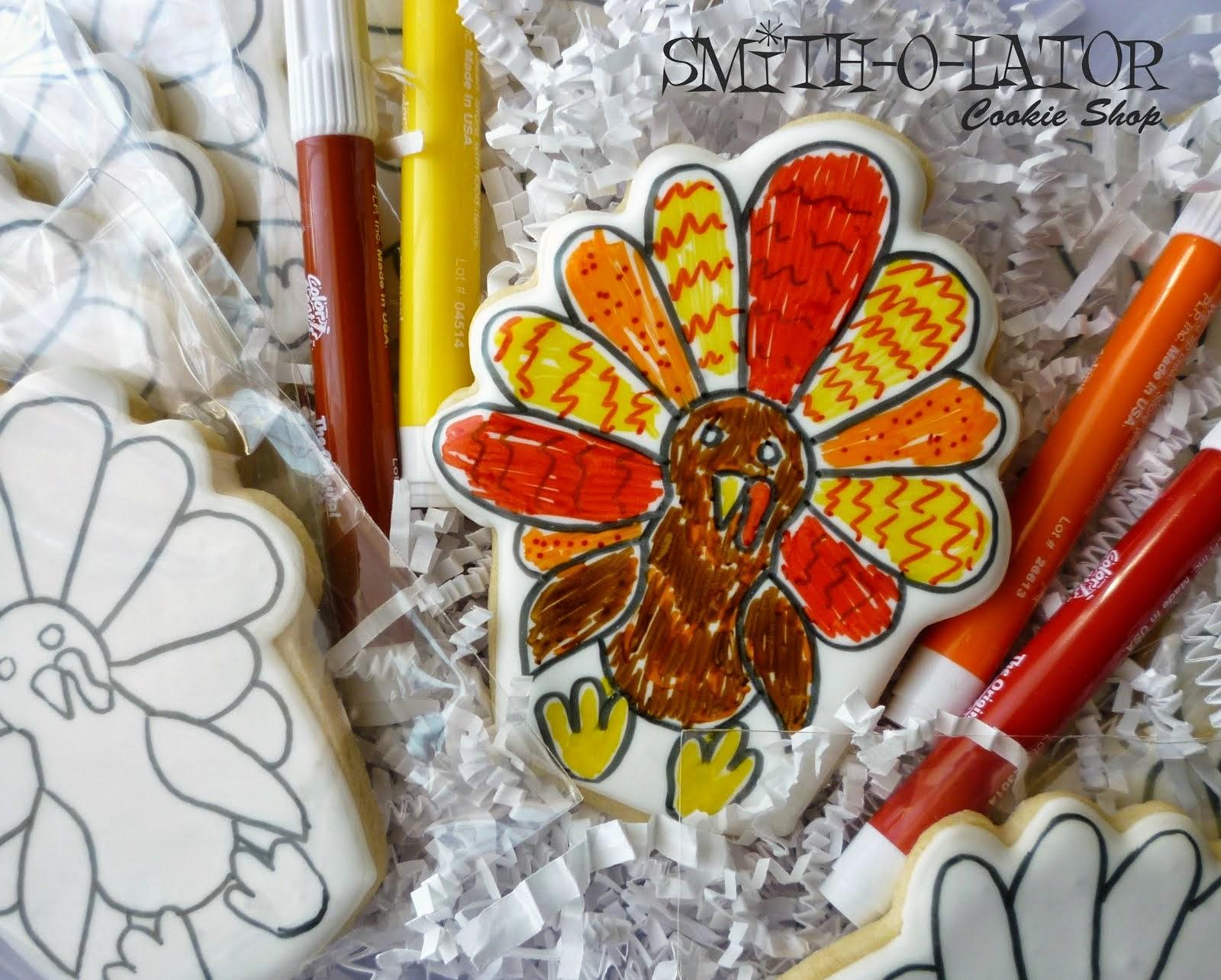Coloring Cookies