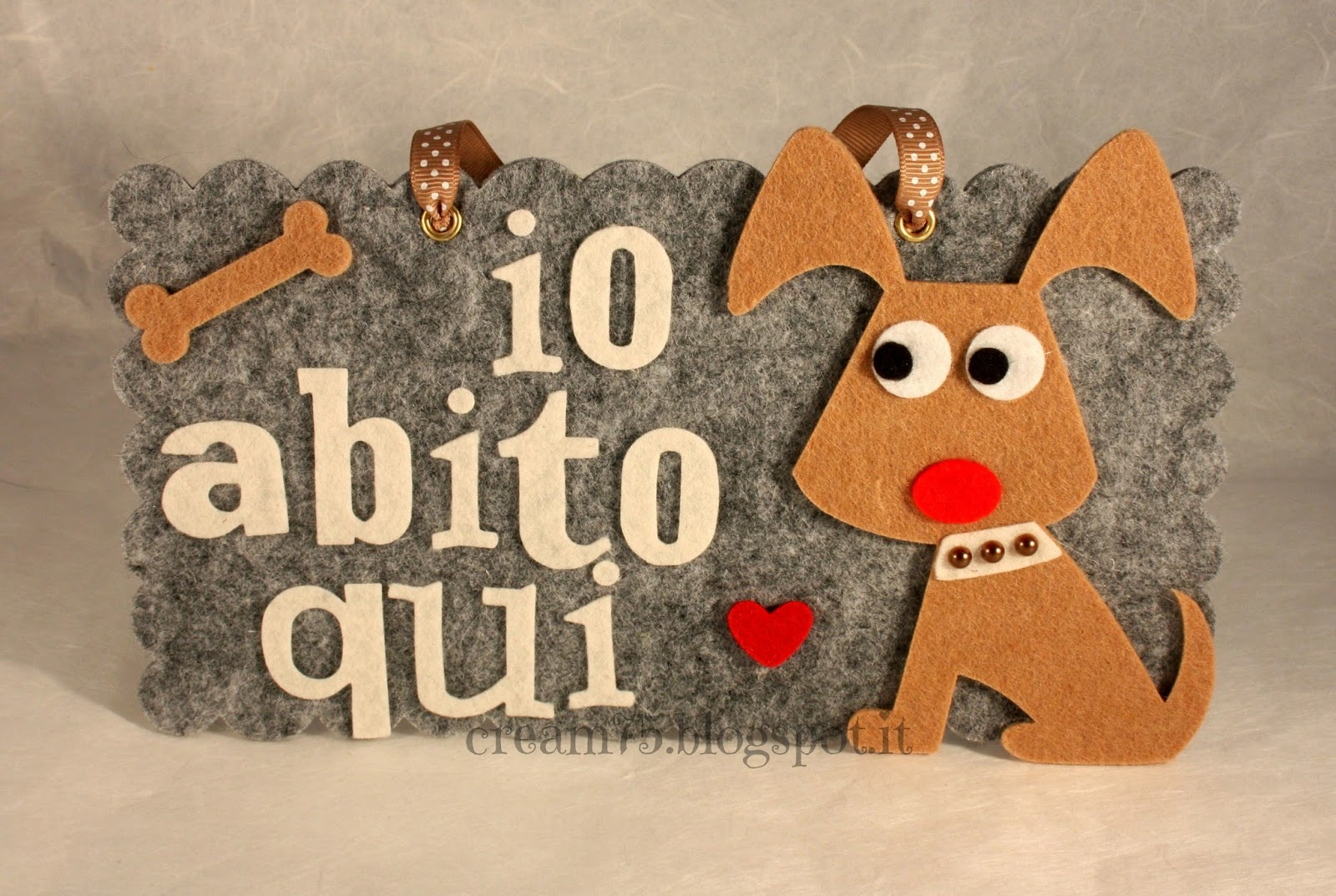My sweet blog targhette fuori porta con cani - Targhette porta ...