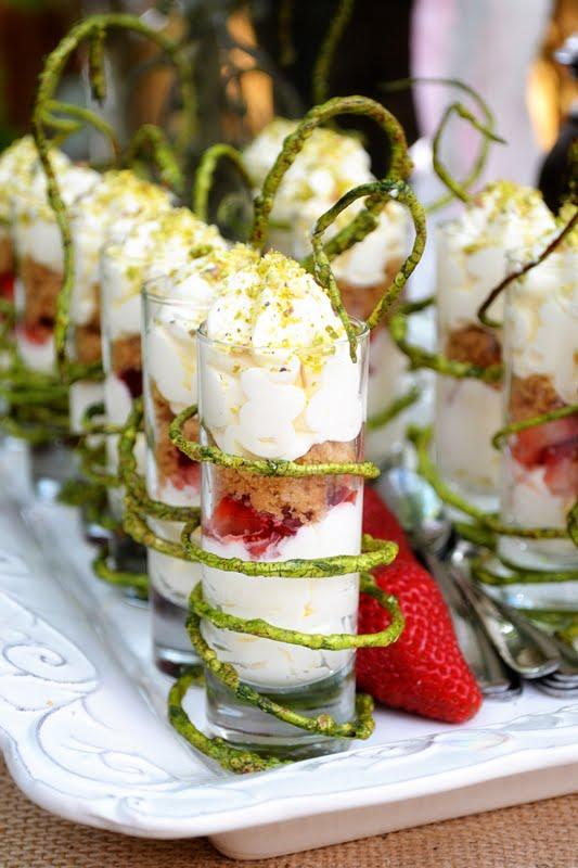 A Little Cuppa Tea: Strawberry Cheesecake Parfaits