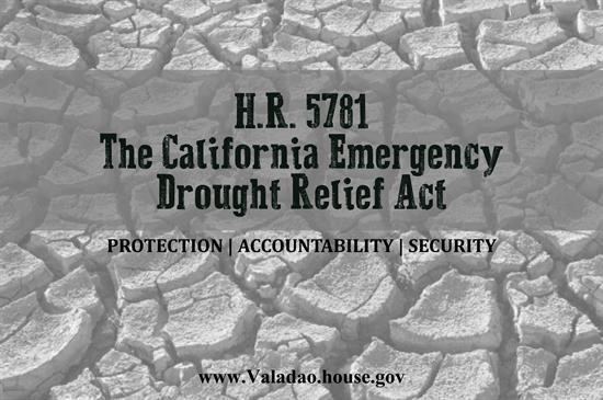 House 'Drought Relief' Bill Would Eviscerate Environmental Protections