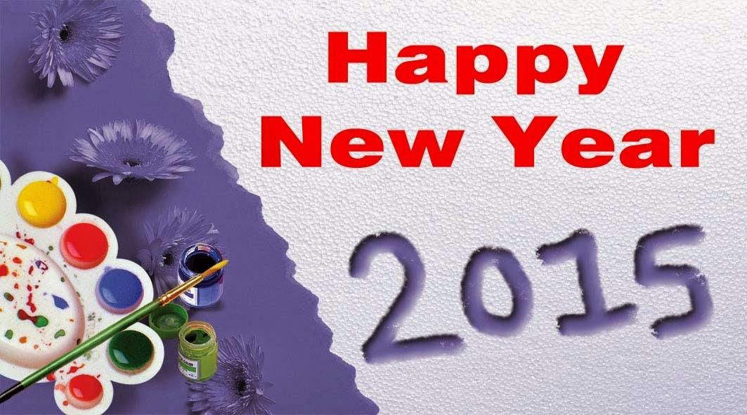 DP BBM Selamat Tahun Baru 2015 PP Facebook Happy New Year 2015 Wallpaper HD