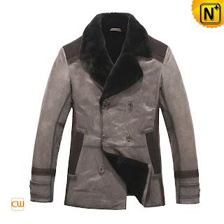 Real Lambskin Coat for Men