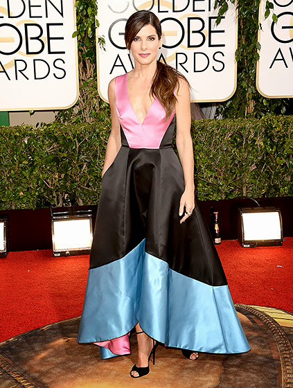 Sandra Bullock in Golden Globes 2014