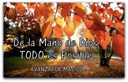 de la Mano de Dios Todo es
