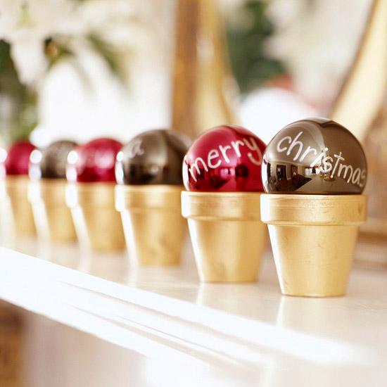 decorar con bolas de navidad