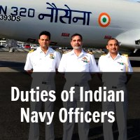 Duties of Indian Navy Officers