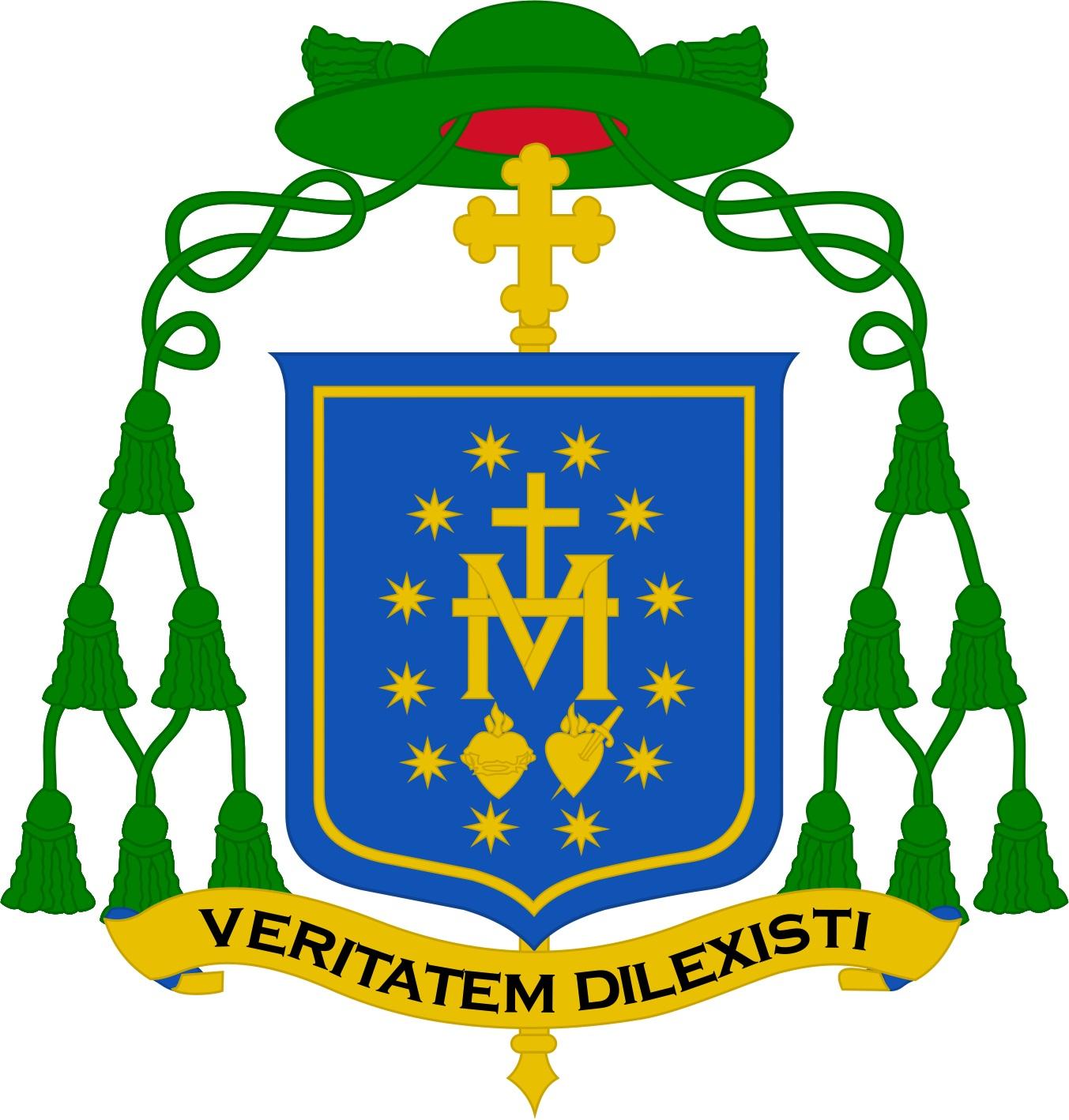 Brasão de Armas - Dom Tomás de Aquino, OSB