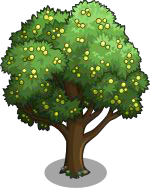 01 FarmVille Unreleased Trees : Service Tree & Wild Service Tree