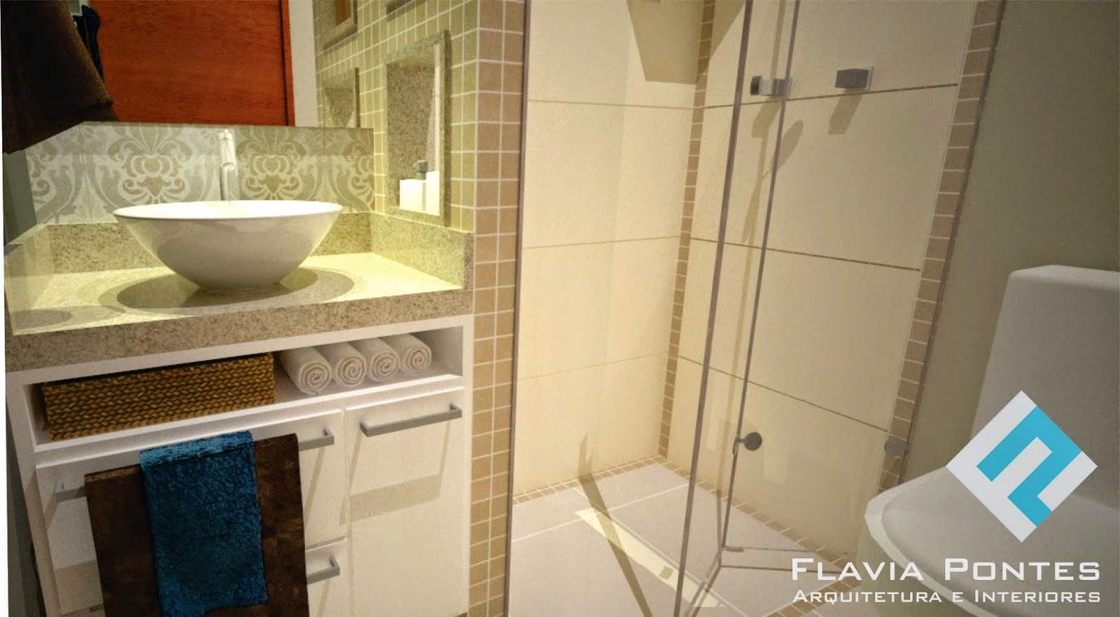 Para ver mais projetos de banheiros clique aqui. #6B391A 1600x881 Arquitetura Banheiro Social