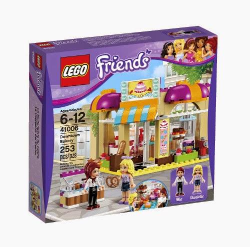 JUGUETES - LEGO Friends  41006 La Pastelería del Centro  Producto Oficial | Piezas: 253 | Edad: 6-12 años