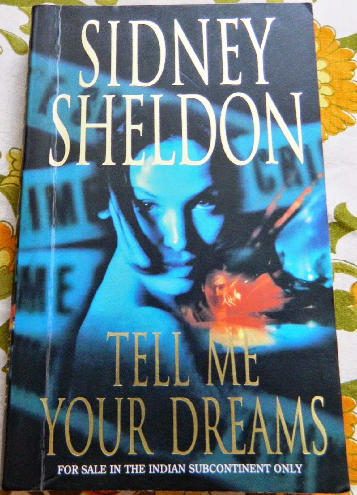 Tell Me Your Dreams by Sidney Sheldon cover