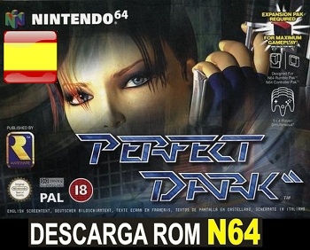 Perfect Dark ROMs Nintendo64 Español