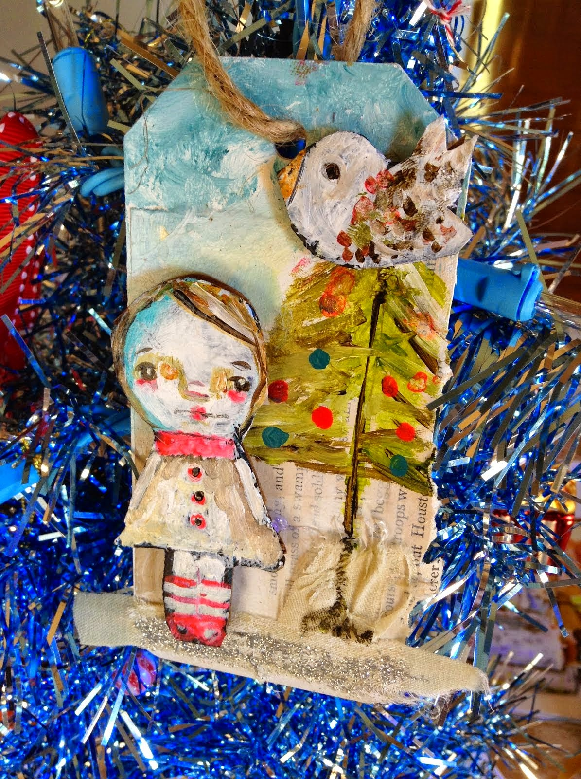 Tim's Sally 12 Artsy Ornaments Giveaway