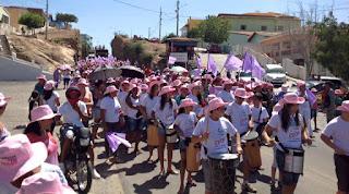 Grande movimentação na V Caminhada da Paz Pelo Fim da Violência Contra a Mulher em Picuí