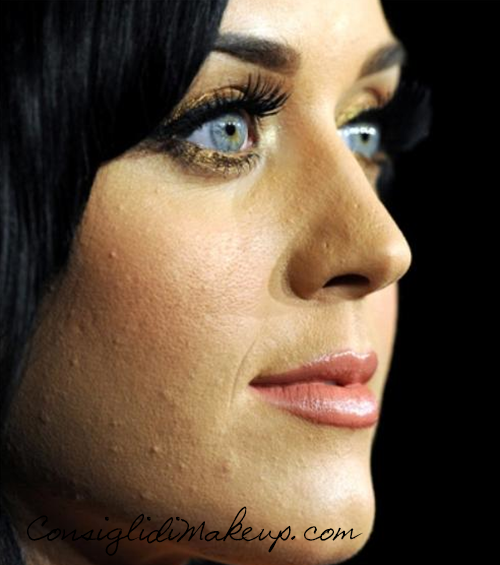 errori di make-up fondotinta