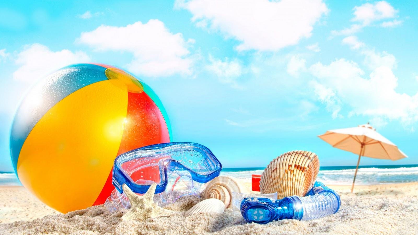 Hd Hintergrundbilder Sommer Strand Meer Urlaub Kostenlos