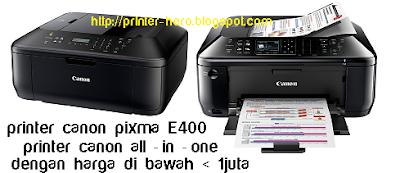 Spesifikasi Printer Canon Pixma MX377 dengan harga terbaru