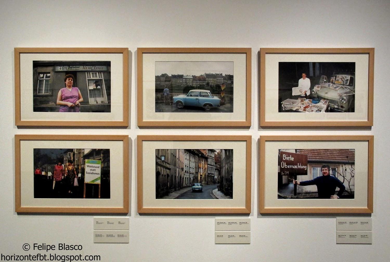 Exposición fotográfica en el Palau Robert en el 25 aniversario de la caída del muro de Berlín