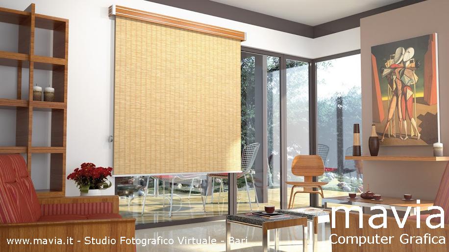 Arredamento di interni complementi arredo design for Tende arredo soggiorno