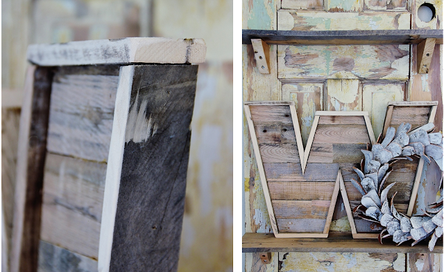 Pallet Wood Letters: Our 8 Favorite Upcycled DIY's for Your Home